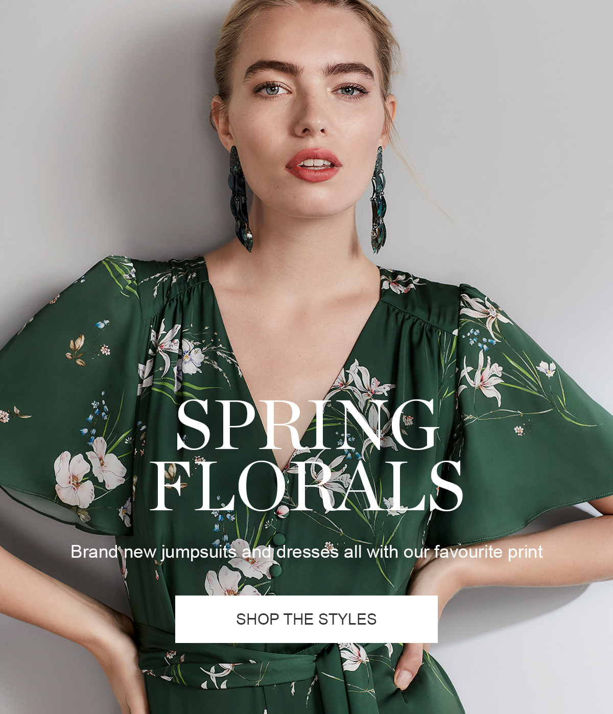 Spring Florals | Brand new jumpsuits and dresses all with our favourite print | Shop the Styles