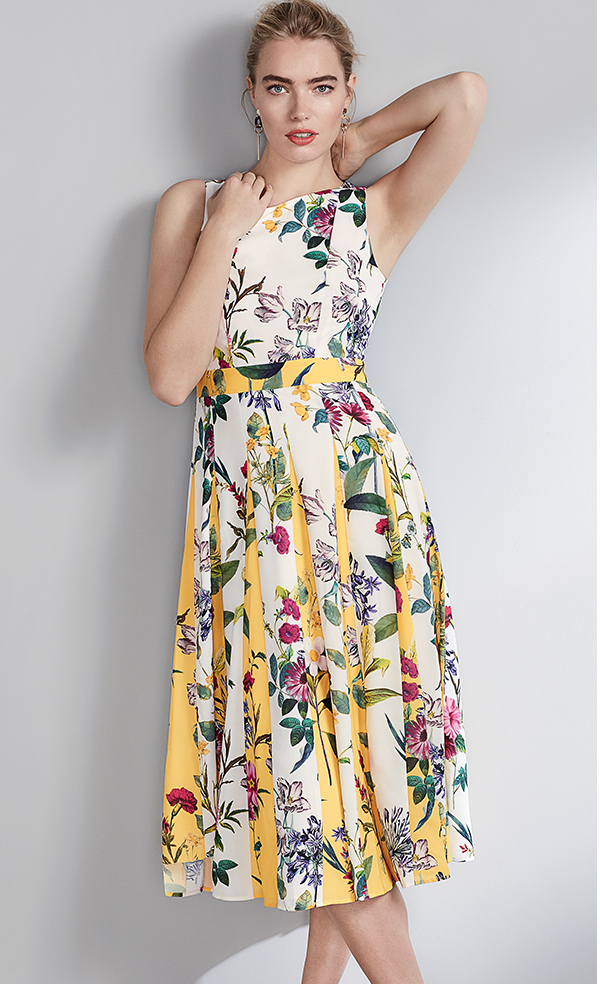 Trudy Floral Dress - £150