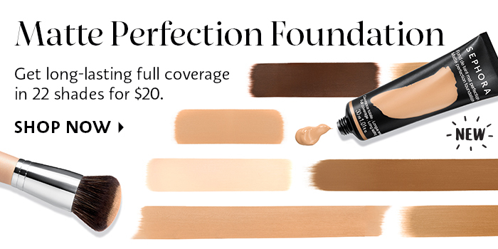 Shop Now Sephora Collection Matte Perfection Foundation