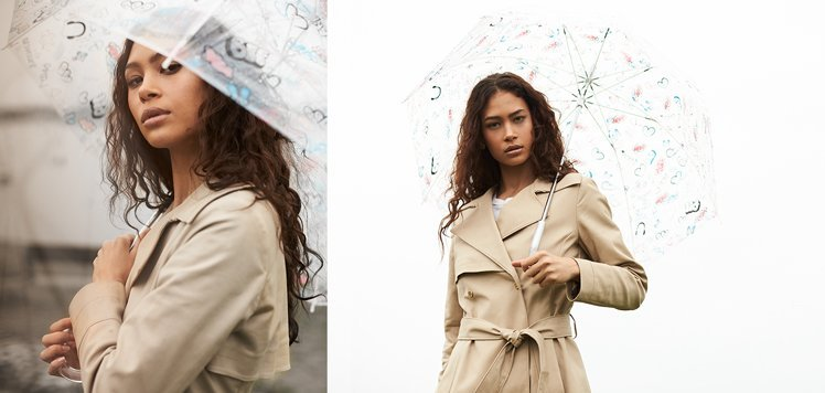 Transitional Layers: Trench Coats to Raincoats