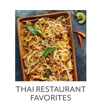 Class: Thai Restaurant Favorites