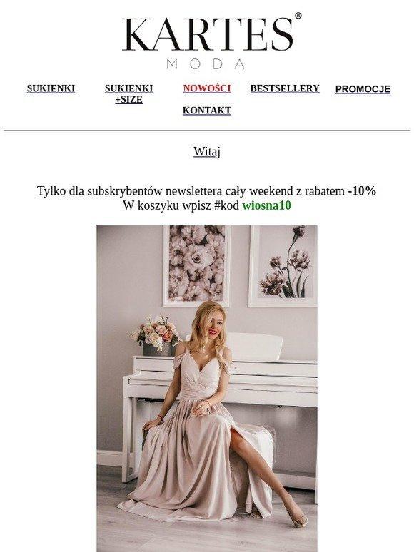 00e87cef8f Kartes sklep   Specjalnie dla Ciebie❤ sukienki -10% przez cały weekend✌
