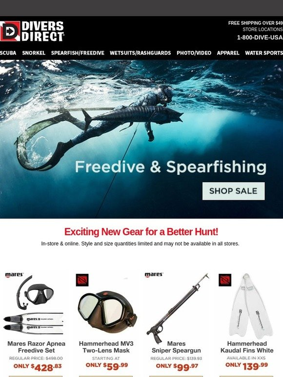 Divers Direct: 💕 Love Freediving or Spearfishing?   Milled