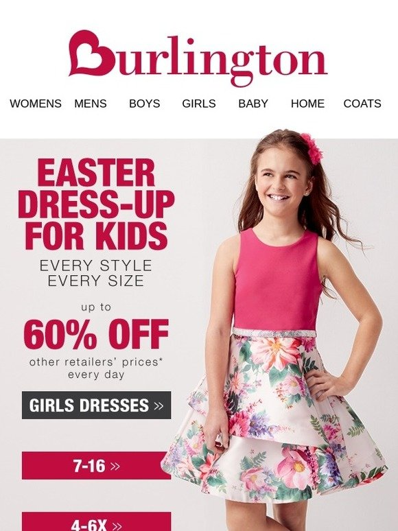 85965316721 Burlington Coat Factory  Save on too-cute Easter outfits for kids ...