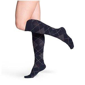 Sigvaris 143 Microfiber Shades Women's Closed Toe Socks - 15-20 mmHg