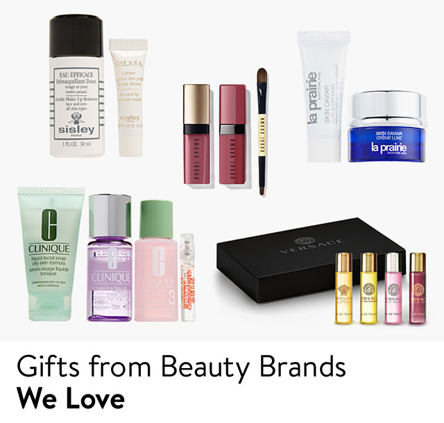 Gifts from beauty brands we love.
