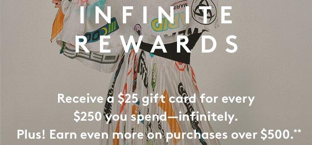 Infinite Rewards ends soon.