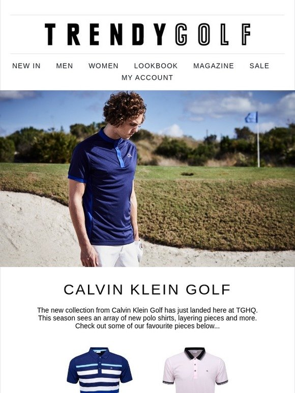 f7d2275e Trendy Golf: All New from Calvin Klein | Milled