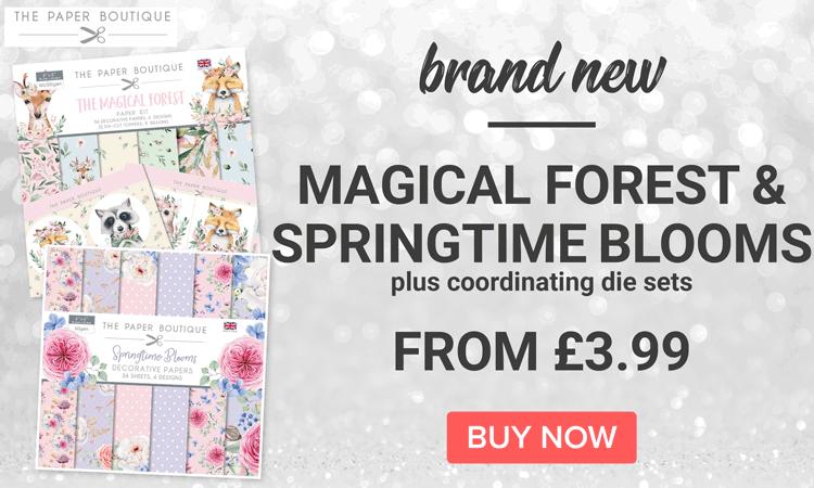 Paper Boutique Magical Forest & Springtime Blooms