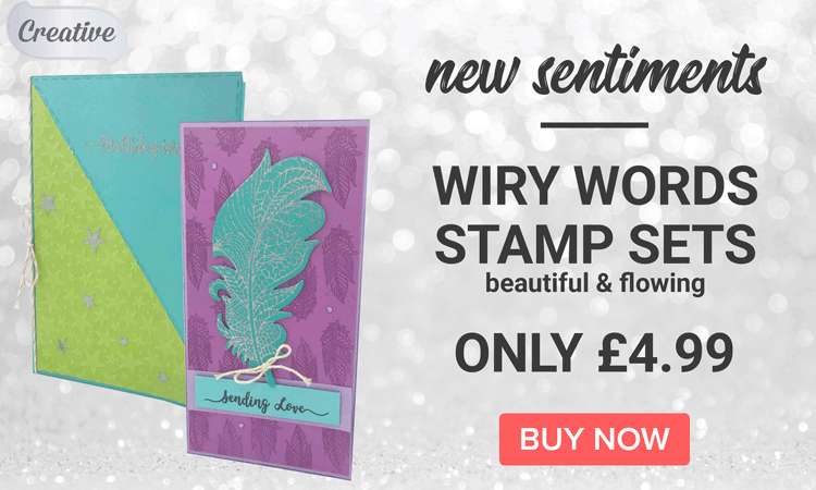 Creative Wiry Words Stamp Sets