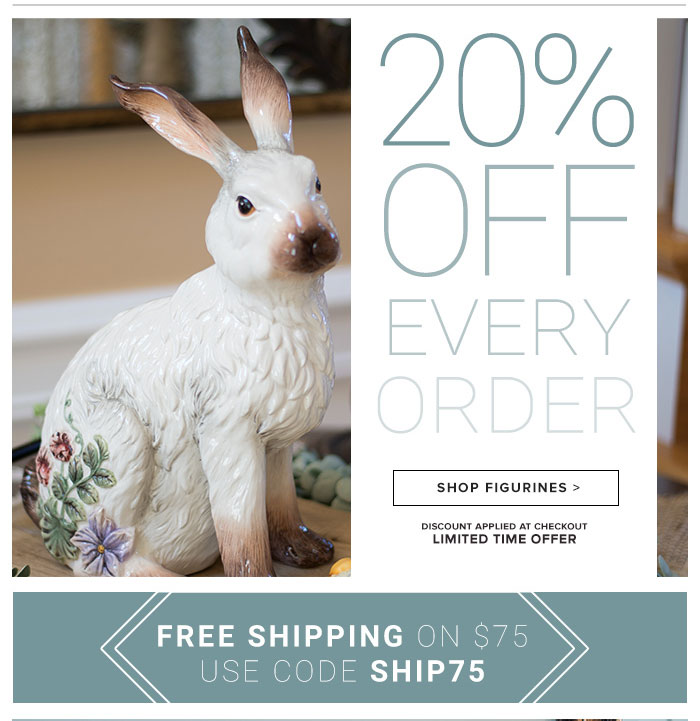 20% Off Every Order!