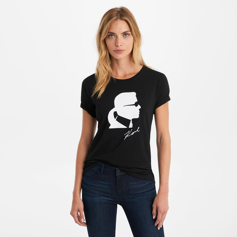 Short Sleeve Karl Profile Tee