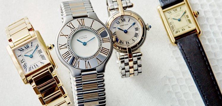 Vintage Women's Rolex to Cartier