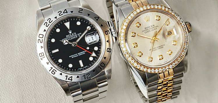 Vintage Men's Rolex to Cartier