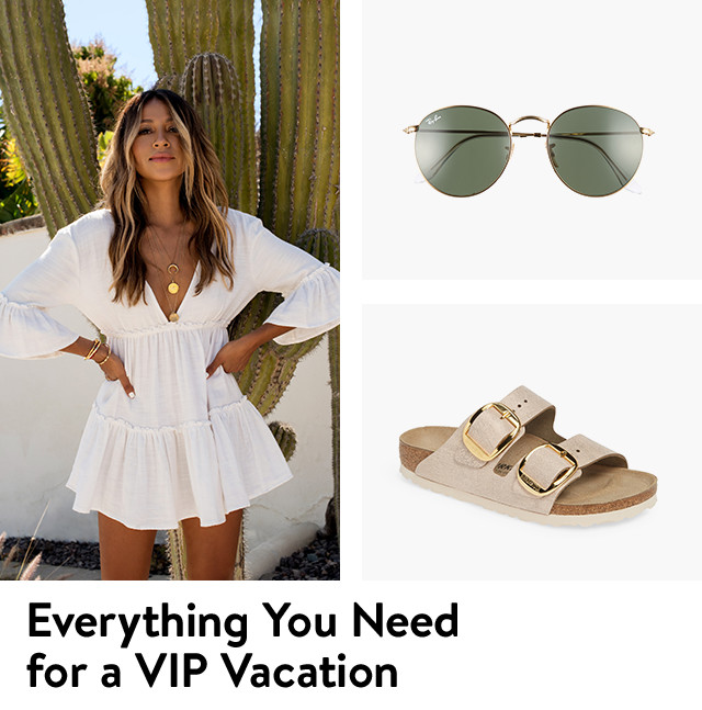 Everything you need for a VIP vacation.
