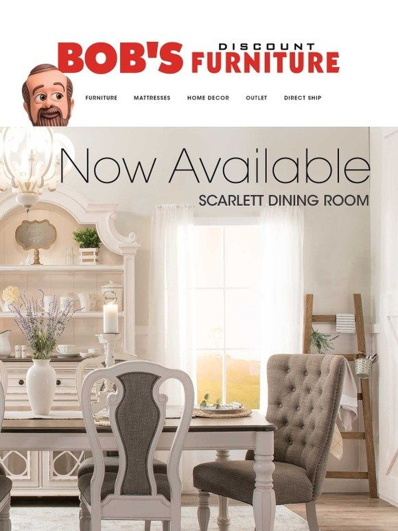 Bobs Discount Furniture Introducing My Scarlett Dining