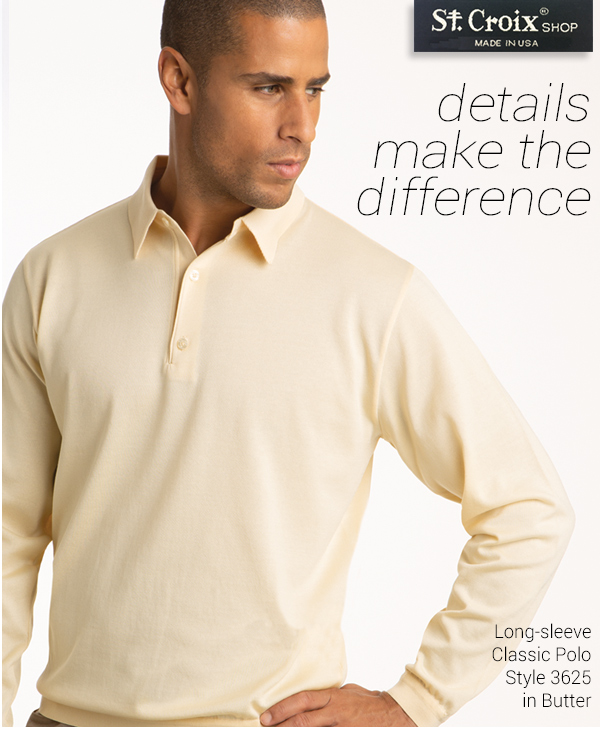 Classic Long-sleeve Polo - Style 3625