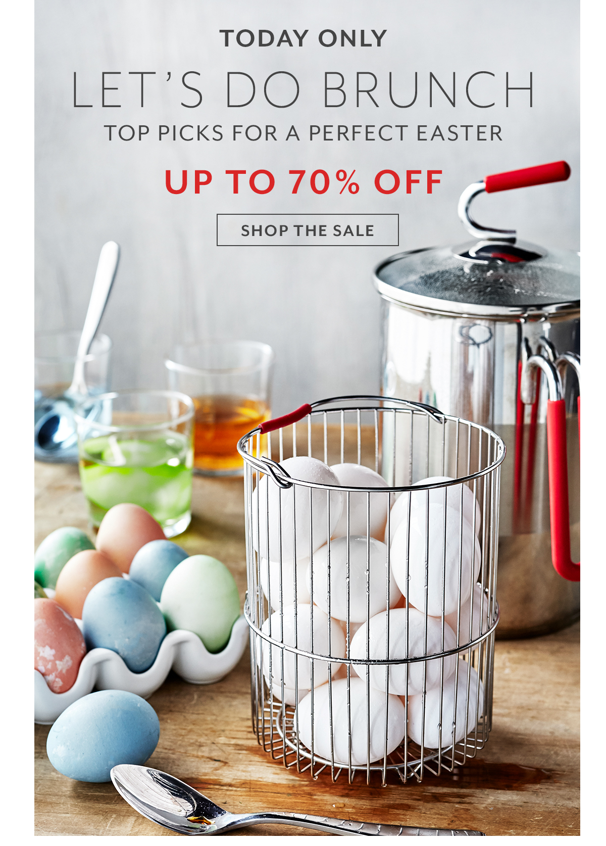 Easter Brunch Cookware Sale