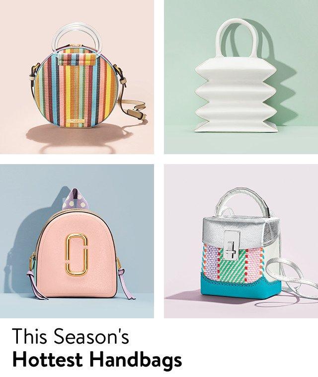 Spring handbags.