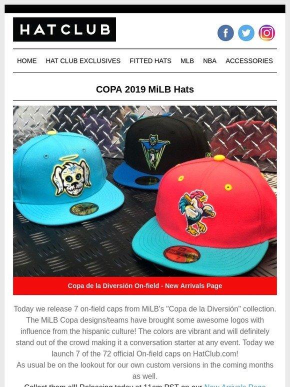9f757f10885f64 Hat Club: COPA 2019 MiLB HATS!! | Milled