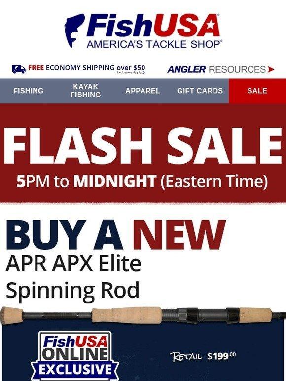 23f182d0ad5 FishUSA.com: Tonight Only! Free Pflueger President XT w/ APR APX Elite  Purchase. | Milled
