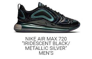premium selection 5c65e 6f1c3 Iridescent Black Metallic Silver Men s