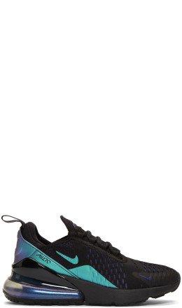 Nike - Black & Purple Air Max 270 Sneakers