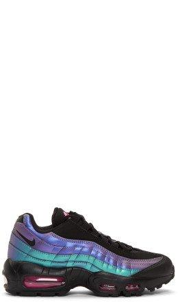 Nike - Black & Purple Air Max 95 PRM Sneakers