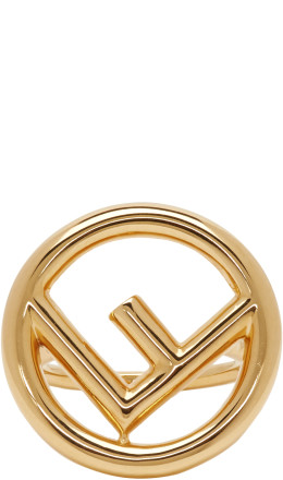 Fendi - Gold 'F is Fendi' Ring