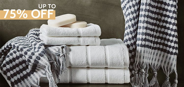 Super Stock-Up: Bath Towels & Rugs