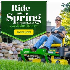 Better Homes and Gardens: Enter to WIN a John Deere Ztrak Mower