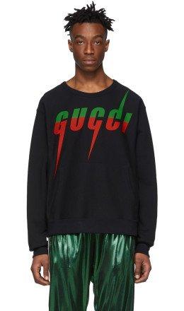 Gucci - Black Logo Sweatshirt
