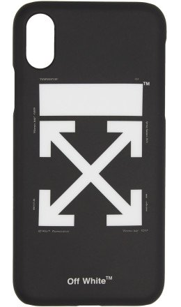 Off-White - Black Arrows iPhone X Case