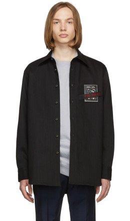 Raf Simons - Black Denim Carry Over Shirt