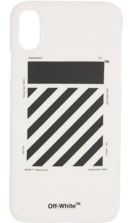 Off-White - White Diag iPhone X Case