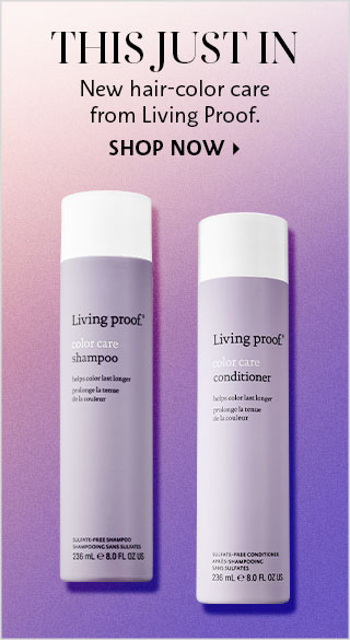 New hair-Color care from Living proof