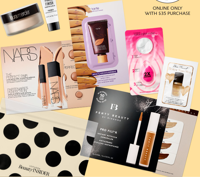 Choose A Foundation Sample Set In Your Shade*