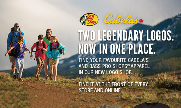 Cabela's Canada: Introducing: Cabela's and Bass Pro Shops Logo Shop