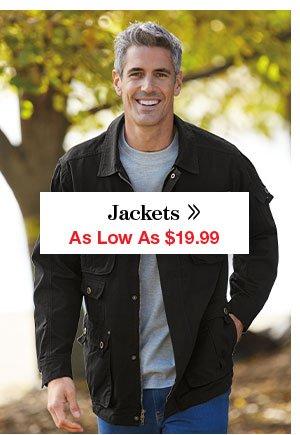 Shop Men's Jackets!