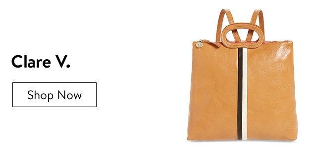 Clare V. handbags.