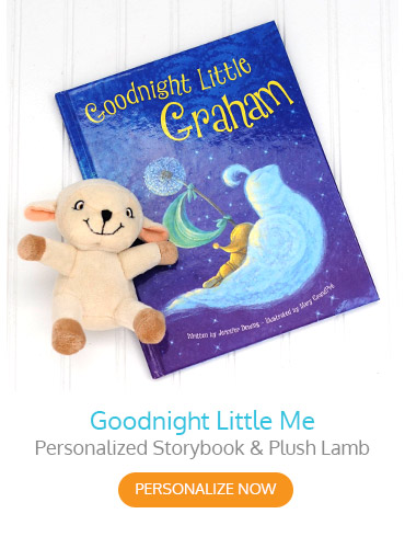 Goodnight Little Me Personalized Storybook with Lamb