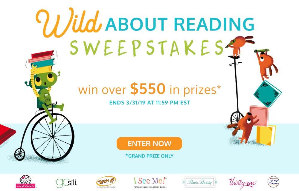 Wild About Reading Sweepstakes