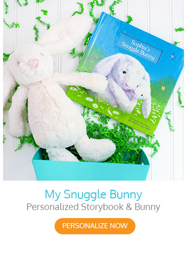 My Snuggle Bunny Personalized Storybook & Bunny