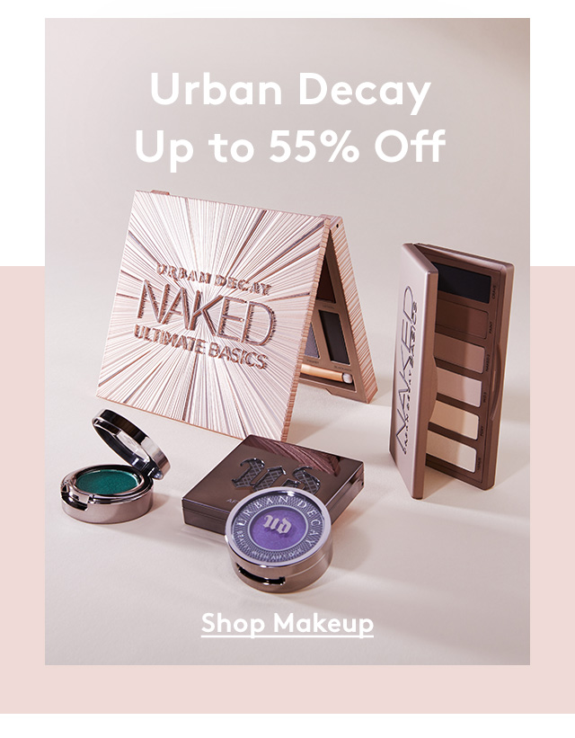 Urban Decay Up to 55% Off | Shop Makeup
