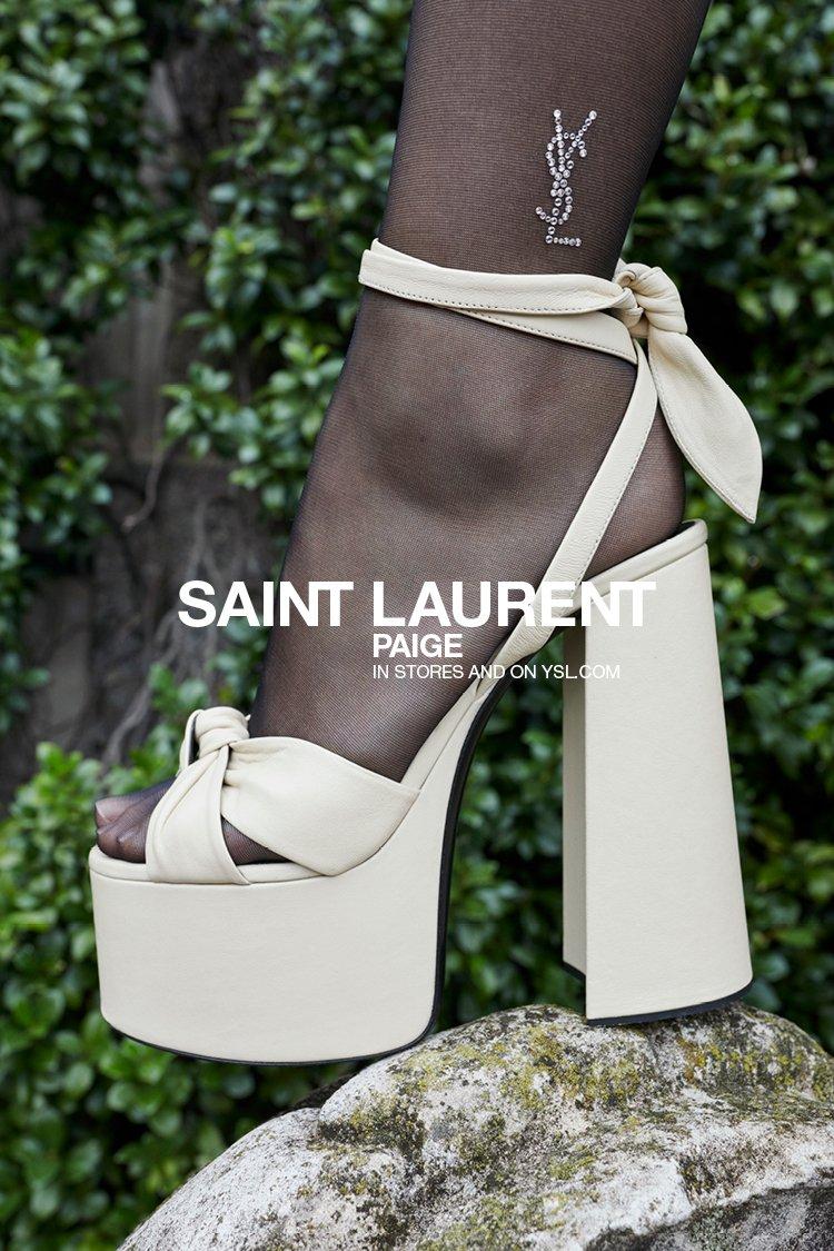 Yves Saint Laurent: Paige Platform