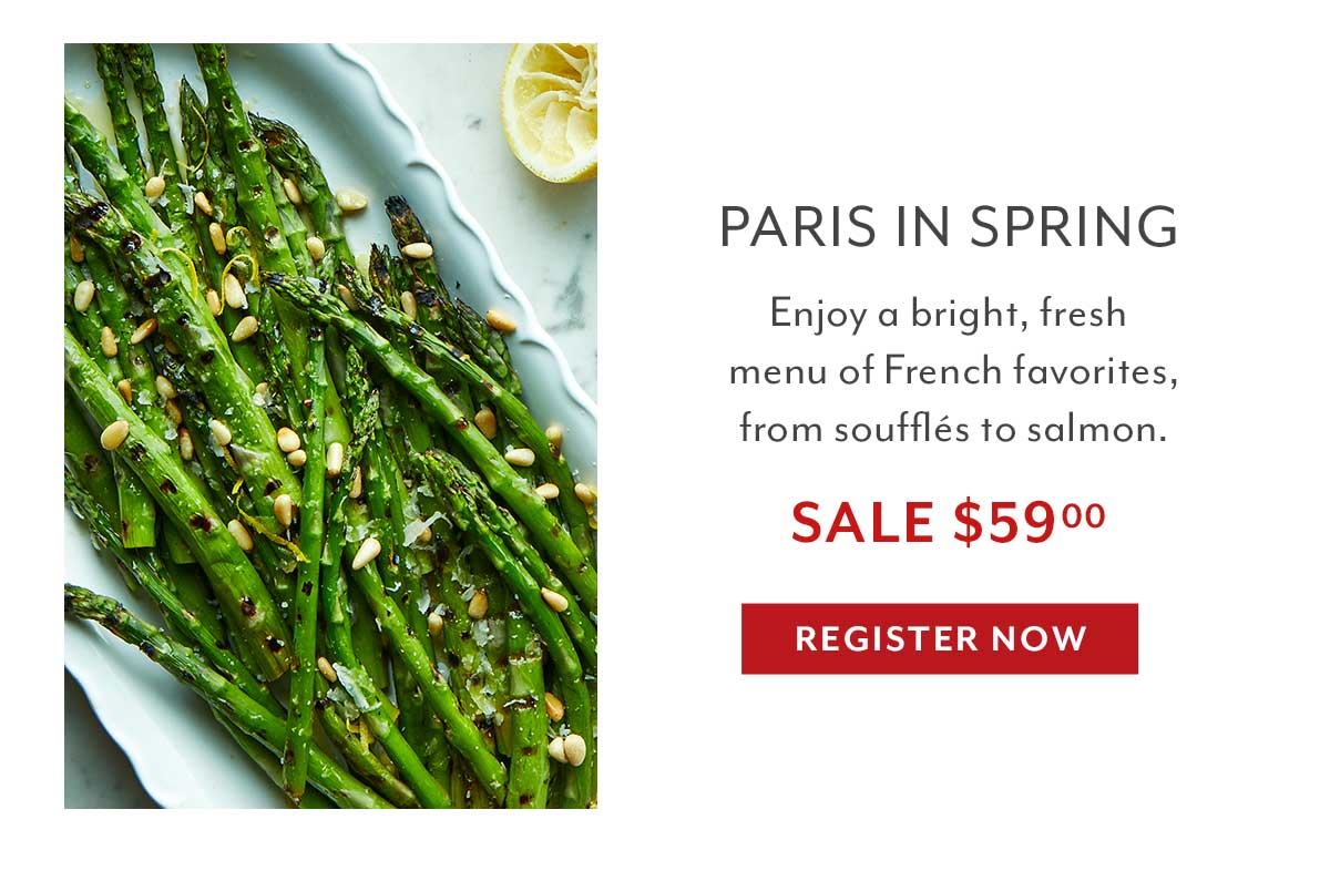 Date Night: Paris in Spring