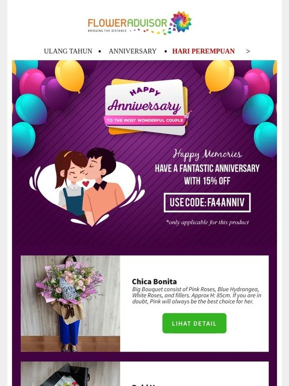 floweradvisor email newsletters shop s discounts and coupon