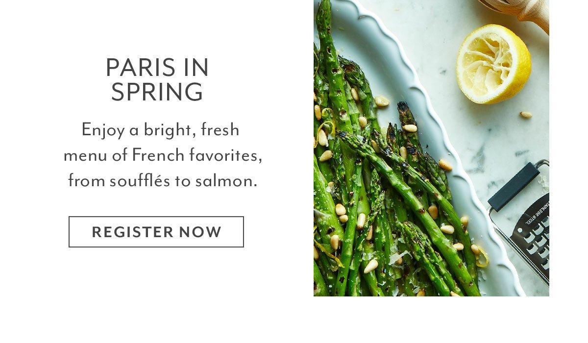 Class: Paris In Spring