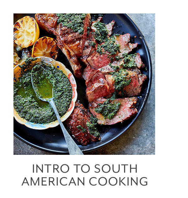 Class: Intro to South American Cooking