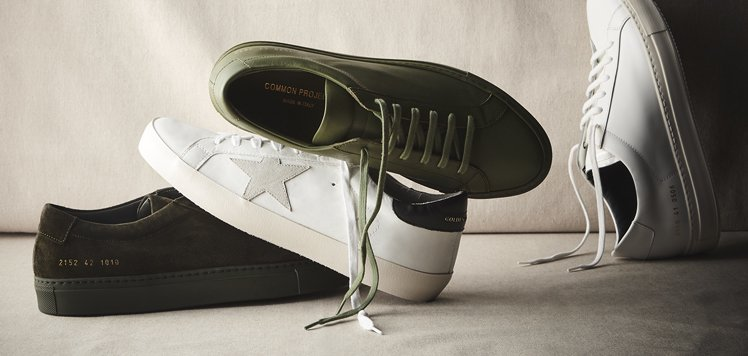 Common Projects & More Luxe Men's Sneakers